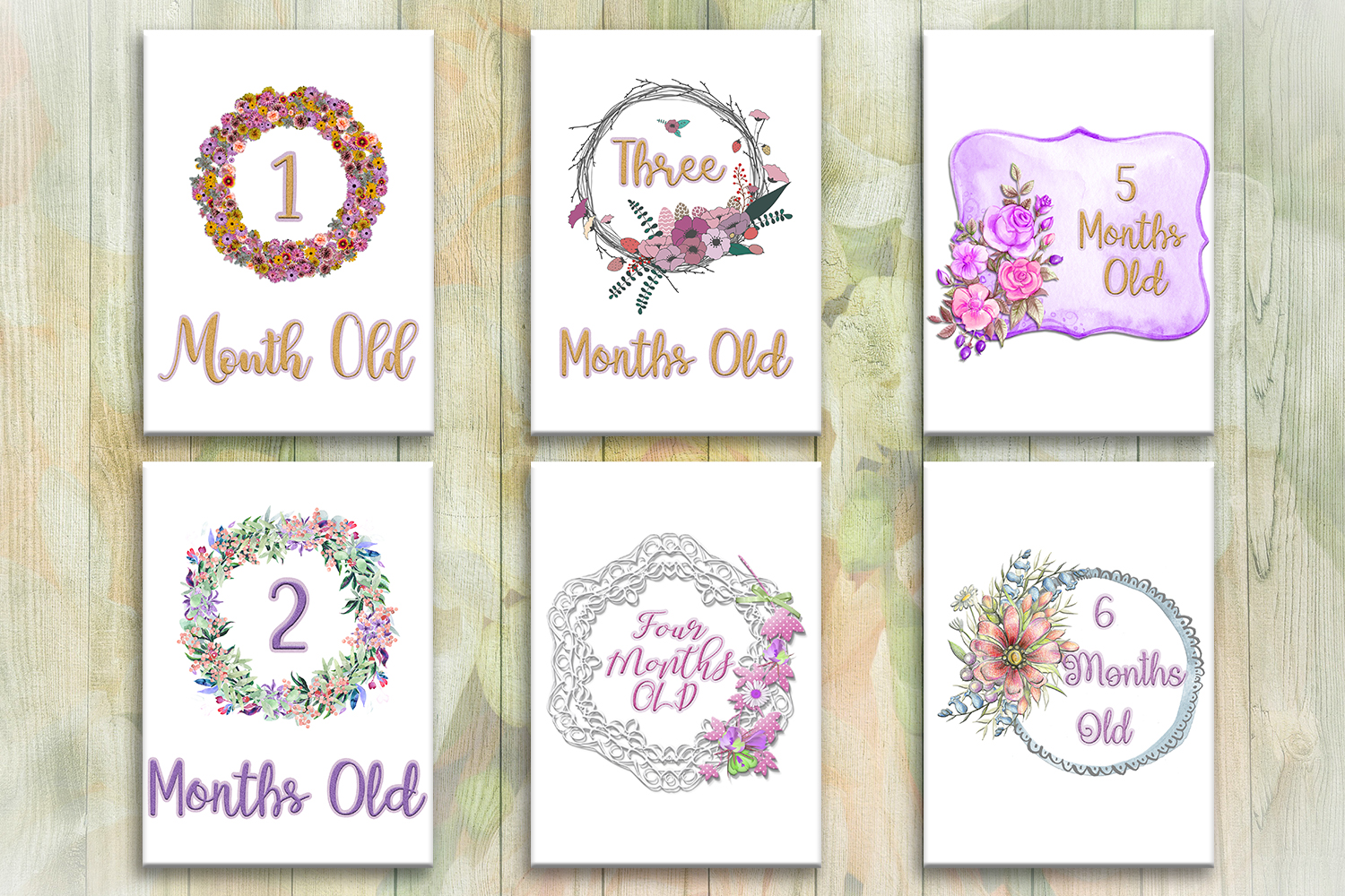 photograph relating to Printable Baby Month Signs identify Milestone Symptoms Boy or girl Weeks Playing cards, kid female,child boy